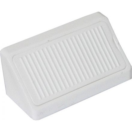 Összekötő szögletvas műanyag dupla 42mm fehér
