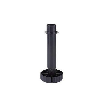 HETTICH 70151 Korrekt láb 80 mm fekete