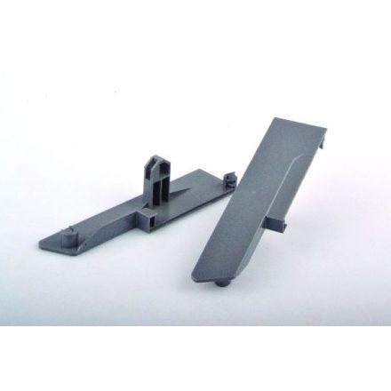 StrongBox fiók front rögzítő belső fiókhoz H140, szürke
