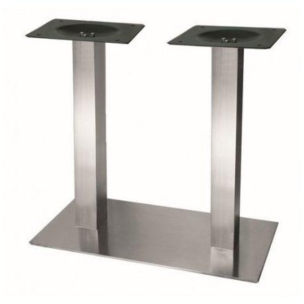 K-STRONG asztalláb központi 700x400 nemesacél 730