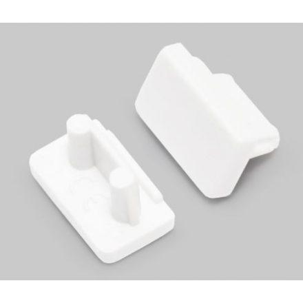 TM-végzáró profilhoz Slim fehér (pár)
