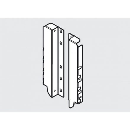 K-BLUM Antaro D 550mm/30kg, TOB, fekete , Inserta