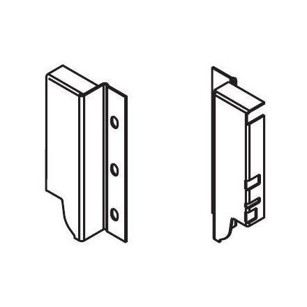 K-BLUM Antaro K 550mm/65kg, TOB, fehér, Inserta