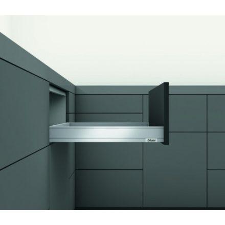 K-BLUM Legrabox N 450mm/40kg,TOB, fekete, csavar