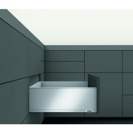 K-BLUM Legrabox C 550mm/40kg,TIP-ON,nemesacél,belső,üveg
