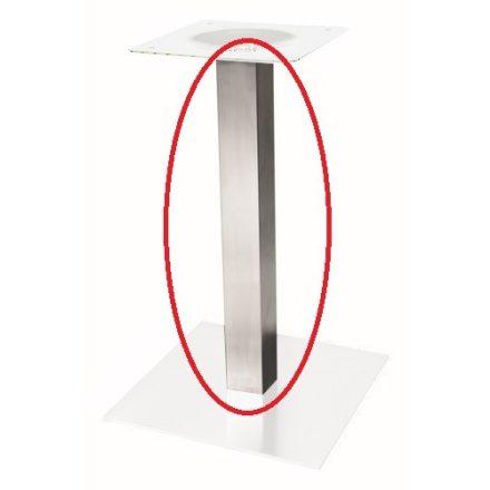 STRONG Rész központi asztallábhoz - láb 80x80x1100, nemesacél