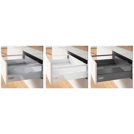 K-HETTICH InnoTech Atira, front kihuzású, ezüst, 520/70/144, 50kg, P2Os