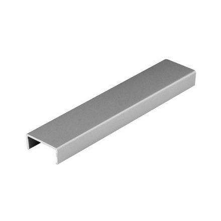 """SEVROLL """"U"""" profil rétegelt lemezhez 18mm 3m ezüst"""