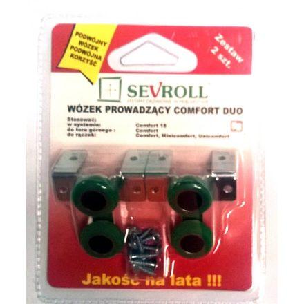 SEVROLL Comfort felső görgő 18mm - 2db