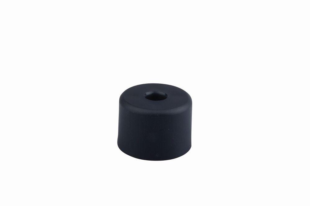 Csúszó talp csavarozható 496 50x35 mm fekete